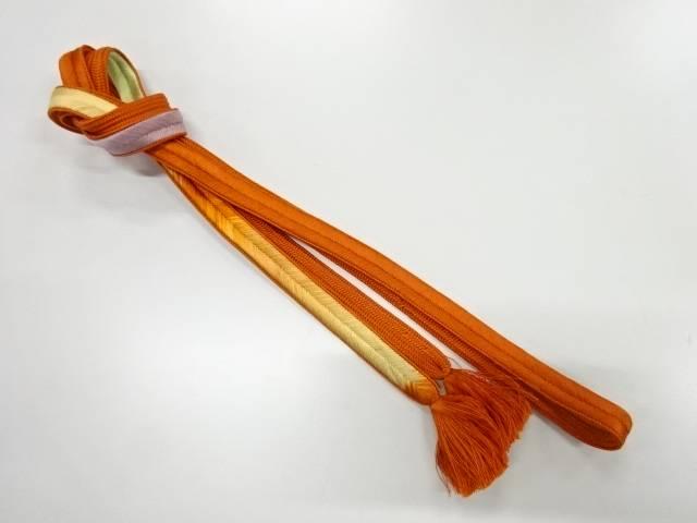 セール特別価格 合計3980円以上の購入で送料無料 正絹 手組み帯締め 中古 リサイクル 人気激安
