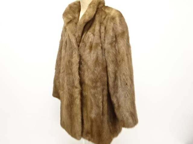 合計3980円以上の購入で送料無料 Malvoisie 使い勝手の良い ミンクコート 中古 卓抜 リサイクル
