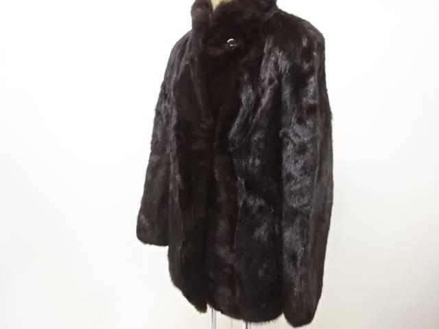 合計3980円以上の購入で送料無料 ミンクコート 中古 売り込み リサイクル ファッション通販