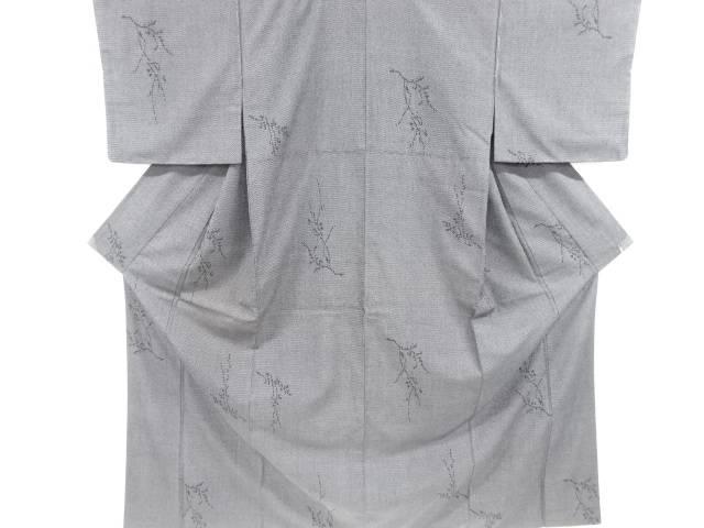 合計3980円以上の購入で送料無料 枝模様織り出し本塩沢着物 リサイクル メーカー直売 新品 中古