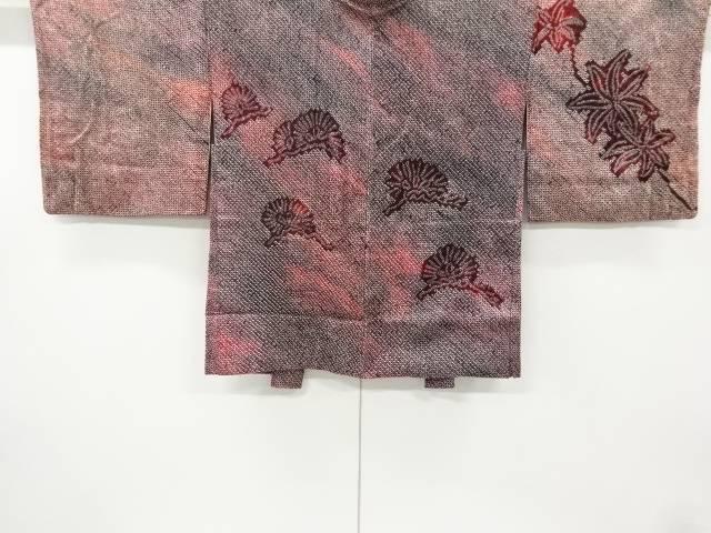 お気に入 合計3980円以上の購入で送料無料 期間限定お試し価格 本総絞り松模様絵羽織 アンティーク 中古