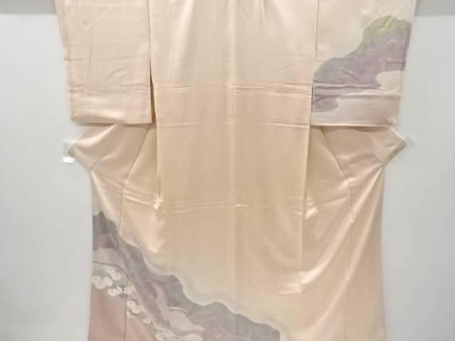 合計3980円以上の購入で送料無料 結婚祝い お得 絞り道長取りに菊模様着物 中古 アンティーク