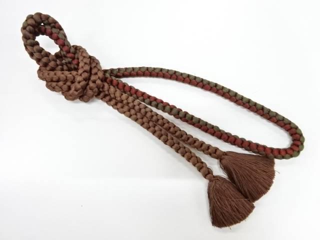 合計3980円以上の購入で送料無料 売り出し 正絹 手組み帯締め リサイクル 中古 日本最大級の品揃え