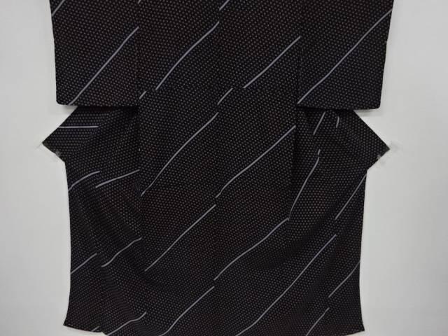 営業 合計3980円以上の購入で送料無料 枡模様小紋着物 新作続 リサイクル 中古