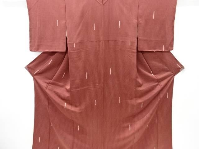 合計3980円以上の購入で送料無料 絞り変わり縞模様小紋着物 中古 アウトレット リサイクル 商品追加値下げ在庫復活
