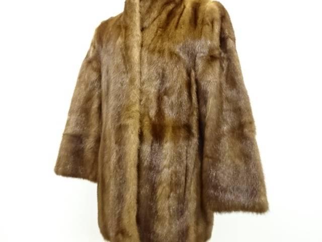 値下げ 合計3980円以上の購入で送料無料 ミンクコート 中古 リサイクル 無料サンプルOK