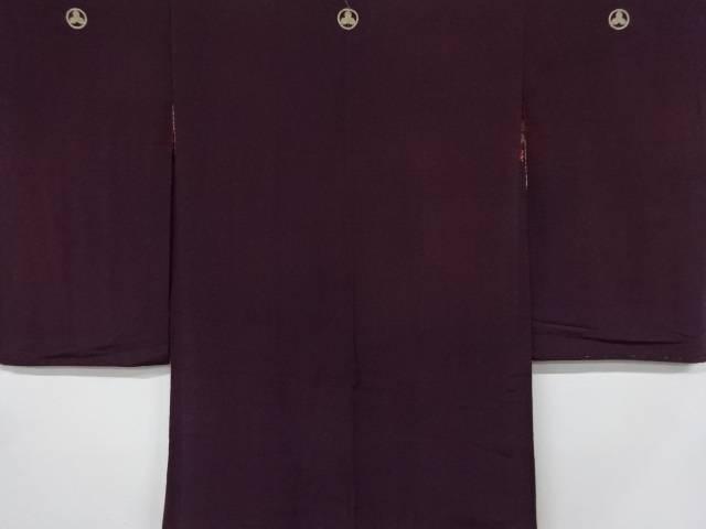 合計3980円以上の購入で送料無料 新作多数 錦紗無地三ツ紋羽織 中古 アンティーク 流行のアイテム