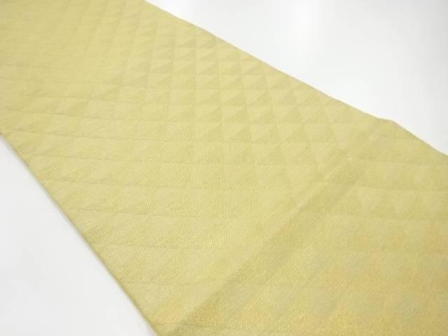 合計3980円以上の購入で送料無料 鱗模様織出し全通袋帯 リサイクル 品質保証 着 中古 高品質新品
