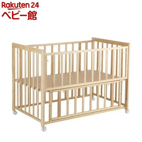 ベッド キュート ナチュラル(1台)【カトージ(KATOJI)】[ベビーベッド 布団 寝具]