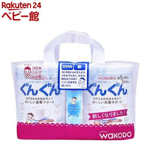 フォローアップ ミルク ぐんぐん(830g*2缶入*4コセット)【ぐんぐん】[粉ミルク]