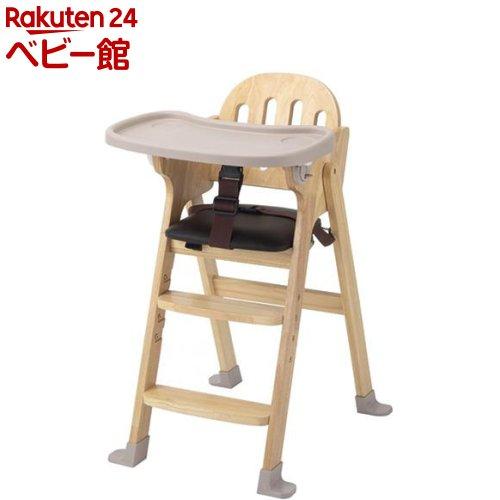 木製ハイチェア Easy-sit ナチュラル(1台)【カトージ(KATOJI)】[ベビーチェア お食事グッズ 家具 ハイチェア]