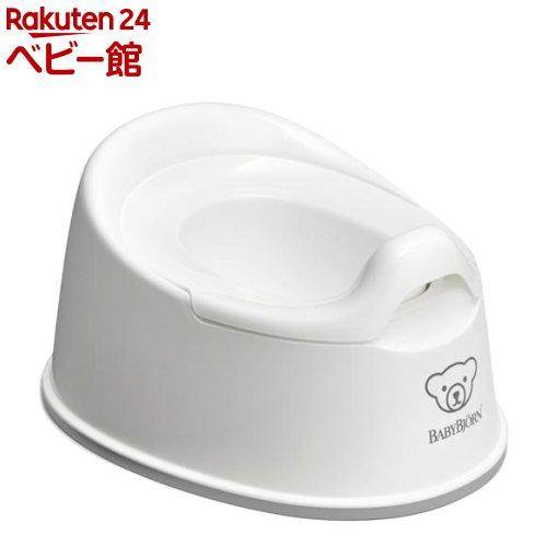 ベビービョルン スマートポッティ ホワイト/グレー(1個)【ベビービョルン(BABY BJORN)】