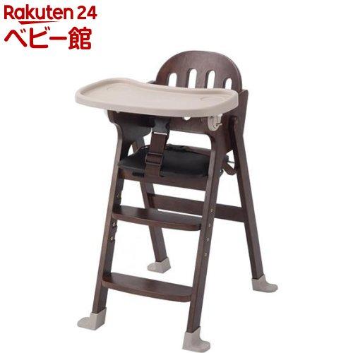木製ハイチェア Easy-sit ブラウン(1台)【カトージ(KATOJI)】[ベビーチェア お食事グッズ 家具 ハイチェア]