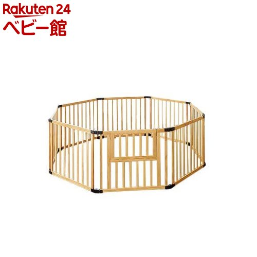 折りたたみ木製ベビーサークル123 8枚セット(1セット)【日本育児】[ベビーサークル フロアマット セーフティグッズ]