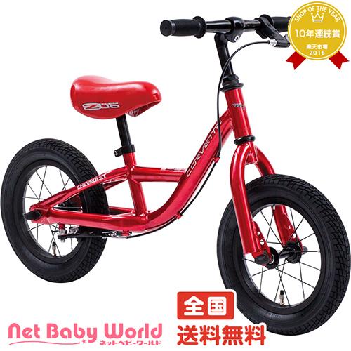 更にママ割メンバーポイント5倍 コルベット トレーニーバイク12 レッド CORVETTE TRAINEE BIKE ジック GIC 三輪車のりもの・自転車用チャイルドシート 乗用玩具