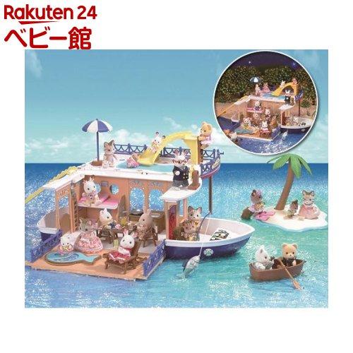 シルバニアファミリー 大きな海のクルーズボート M-01 ショコラウサギ(1個)【シルバニアファミリー】[おもちゃ 遊具 人形 ぬいぐるみ]