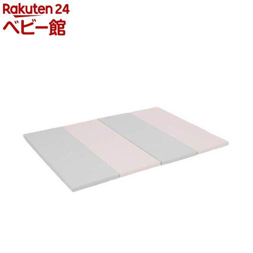 日本育児 定価 nuage プレイマットグレーピンク 1セット 定番スタイル