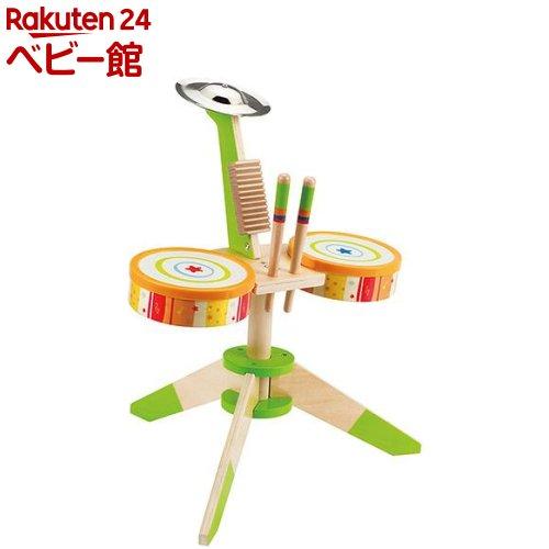 おもちゃ 遊具 数量は多 新色追加 楽器玩具 カワダ 1セット ロック リズムバンド E0324A