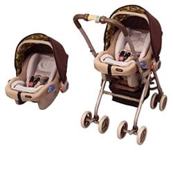 365天★货到付款・★EX COMBI多5方法PW(这里浅驼色)搭挡EXCOMBI多类型车辆多功能bebi-ka-、婴儿席point3_netbaby