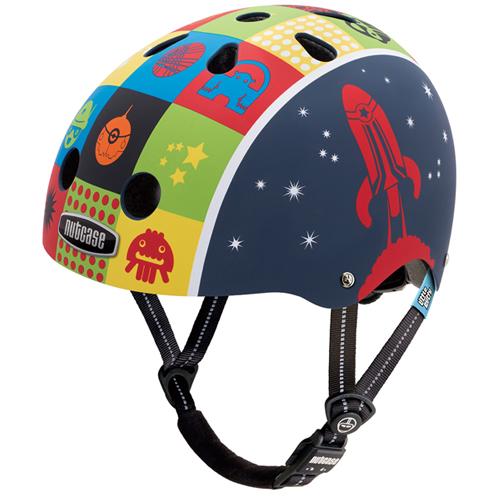 ナットケース リトルナッティ GEN3 バイザー付き 48~52cm スペースキャデット nutcase Little Nutty ヘルメット ストリート レインボープロダクツ