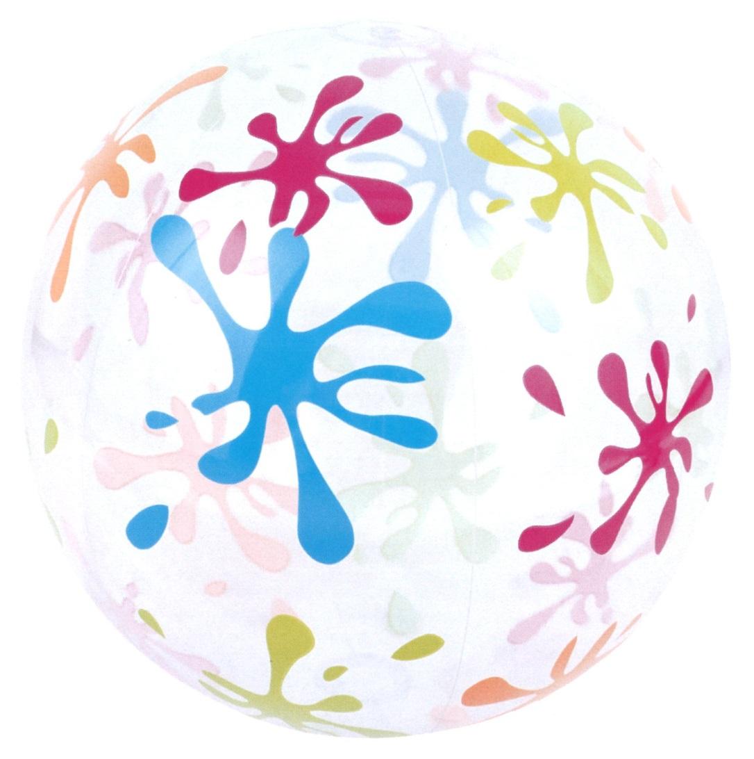 水あそび ビーチボール ジャンボ ビーチボール 122cm (膨らませた時の直径約80cm)浮き袋 うきわ 41362