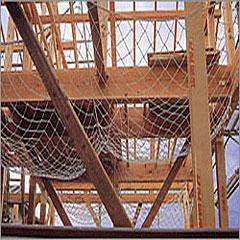 転落防止・落下防止安全ネット【木造住宅用3.2φ】2畳 50mm目B 1.7m×1.7m 10枚入
