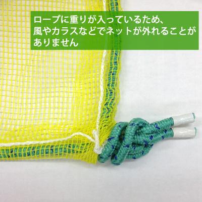 【集積所用】クロウガードネット 3m×4m ゴミ置き場のカラス撃退ネット