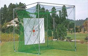 昇降式ゴルフ練習用ケージ1人用(GMタイプ) TN-15-1603
