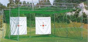 昇降式ゴルフ練習用ケージ2人用(GLタイプ) TN-15-1605