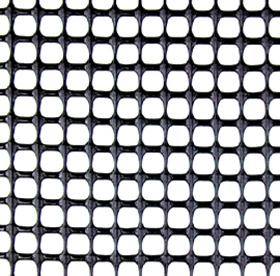 トリカルネット NR-481 7.5mm×7.5mmブラック プラスチックネット