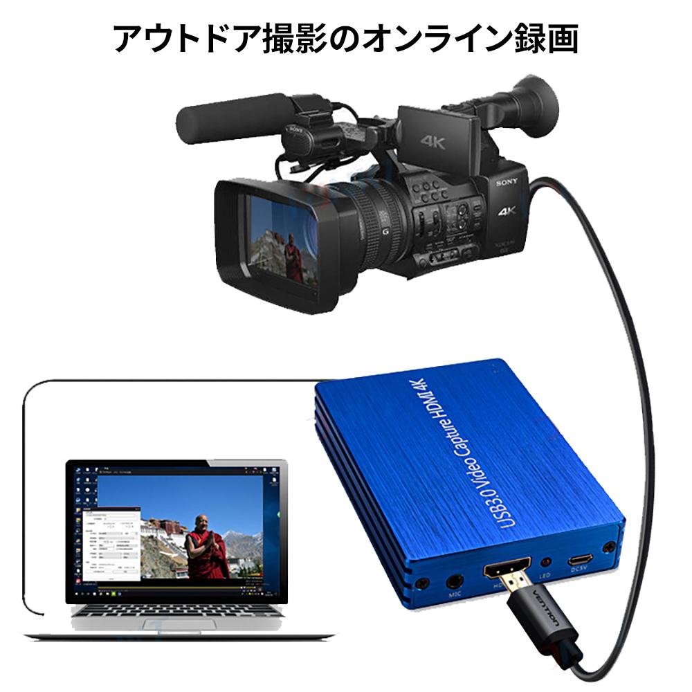 【楽天市場】USB3.0 ビデオキャプチャー ゲームキャプチャー キャプチャーボード 4K高画質対応 PS3/PS4