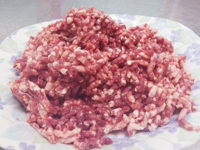 国産 ダチョウ ミンチ (背脂入り) 1kg オーストリッチミート 挽肉 だちょう