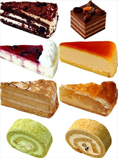 冷凍ケーキセット 自由にセレクト (各種4個入り小箱×20個 入数全80個入り)業務用 冷凍菓子 レストラン カフェ パーティー 送料クール100サイズ相当 イベント