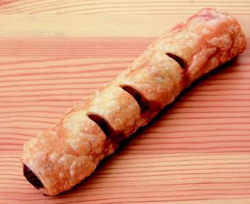 ポークソーセージパイ(77g×135個入り)業務用 冷凍パン生地 送料クール100サイズ相当 レストラン カフェ パーティー