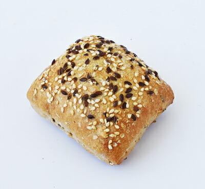 半焼成生地 ミニ・マルチグレインロール(角)(40g×200個入り)業務用 冷凍パン生地 レストラン カフェ パーティー