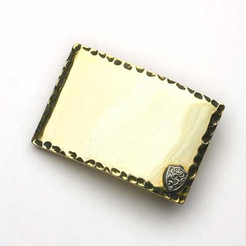 S'FACTORYエスファクトリー スタンダード バックル ブラス(真鍮) ベルト バックル 真鍮 ゴールド シンプル