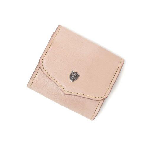 S'FACTORYエスファクトリー スナップコインケース カウレザー ナチュラル(牛革) 本革 コインケース カード 財布 小銭入れ