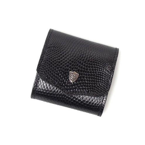 S'FACTORYエスファクトリー スナップコインケース リザード(トカゲ革) 本革 コインケース カード 財布 小銭入れ