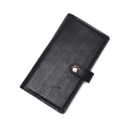 S'FACTORYエスファクトリー iPhone 手帳型 レザースマートフォン ケース カウレザー ブラック(牛革)スマホ カバー 本革 シンプル 無地 iPhone カード収納 ポケット