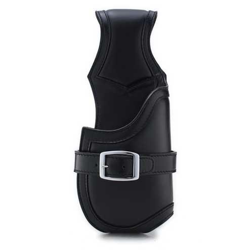 S'FACTORYエスファクトリー ウォレットホルダー 01 ブラック カウレザー(牛革) レザー ホルスター ケース サイフ入れ