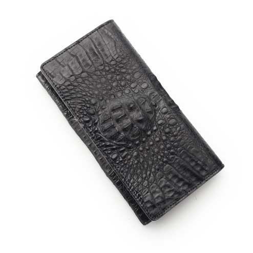 S'FACTORYエスファクトリー/フリースタイル ロング ウォレット クロコダイル(ワニ革)/お財布、本革、レザー、ビジネス、長財布、メンズ