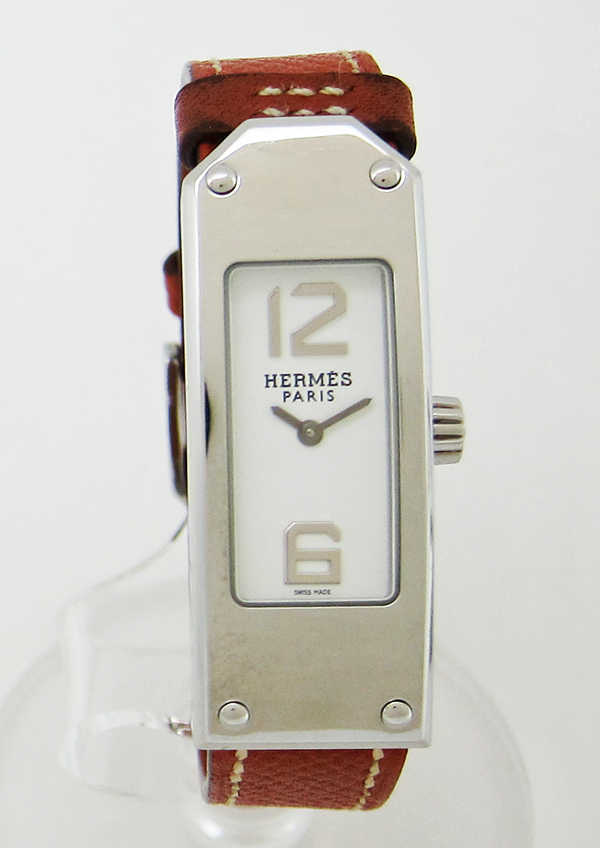 ◇HERMES エルメスケリー2 レディース腕時計 KT1 210 クオーツ腕時計5j34ARL