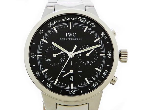 お得セット ◇【】 【IWC インターナショナル・ウォッチ・カンパニー】 GST クロノ クォーツ IW372702 クォーツ腕時計, ブランド腕時計通販の加藤時計店 6686f299