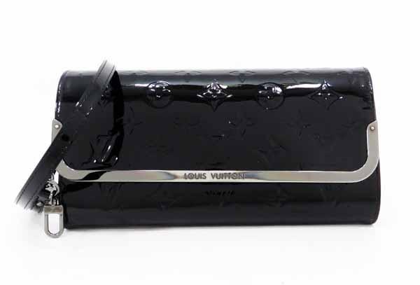◇【中古】 【LOUIS VUITTON ルイ・ヴィトン】 ロスモアMM M90069 クラッチバッグ ヴェルニ/ノワール