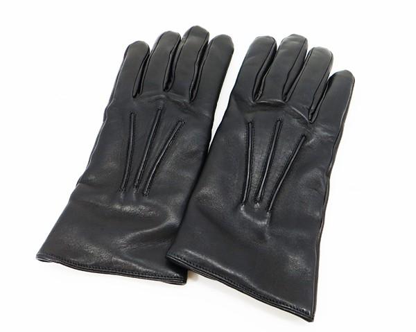 ◇【中古】 【LOEWE ロエベ】 レザーグローブ 手袋