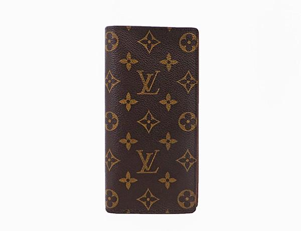 【中古】 美品 【LOUIS VUITTON ルイ・ヴィトン】 ブラザ 2つ折り長財布 M66540 財布 モノグラム