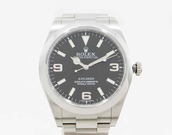 【中古】 美品 【ROLEX ロレックス】 エクスプローラー 214270 自動巻腕時計