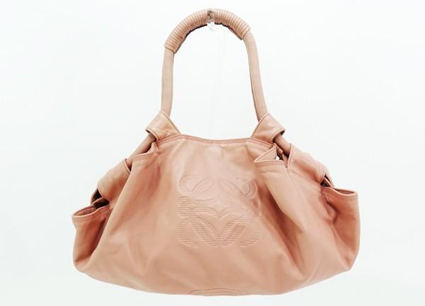 【中古】 【LOEWE ロエベ】 ナッパアイレ ハンドバッグ ハンドバッグ ピンク
