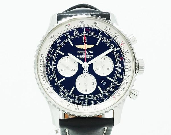 【中古】 【BREITLING ブライトリング】 ナビタイマー 01 AB0127 自動巻腕時計
