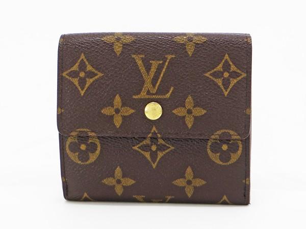 【中古】 【LOUIS VUITTON ルイ・ヴィトン】 Wホック財布 M61652 財布 モノグラム
